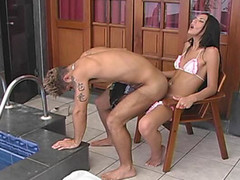 Strap-on Shemale adult tube movies