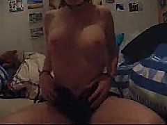 Sexy hot girlfriend cumming and loving every minute of it. She is so fucking hot you might cum without even jerking