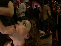 Hawt pretty hotty fucked and dominated in real bondage!