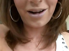 Hotty likes to get her loving holes stuffed by large penis