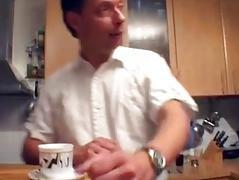 Hawt German MILF gets taken in the kitchen