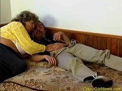 Crazy old mamma fucked hard sex